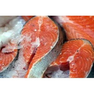 Farm Raise Salmon Steaks