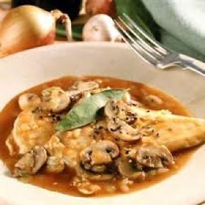 Chicken Marsala Full Tray