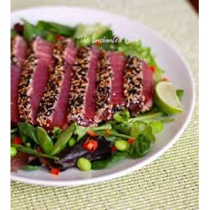 4 lb Sesame Crusted Tuna Platter